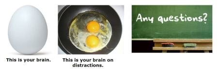 Brain on Distractions